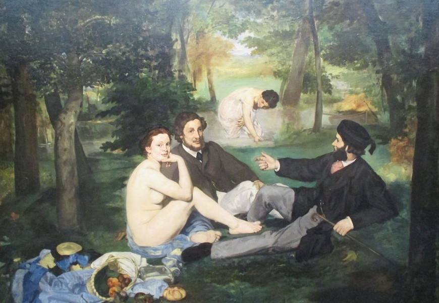 Eduard Manet, La colazione sull'erba, 1863