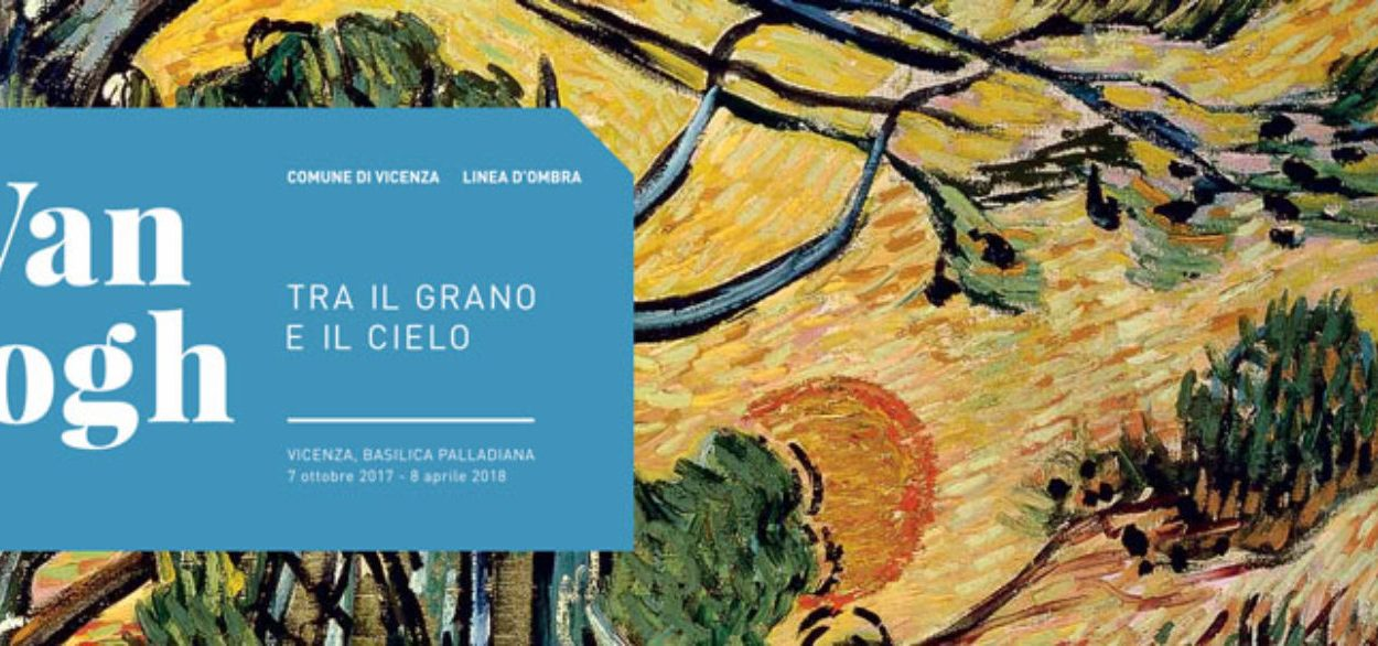The banner of the movie Van Gogh between wheal and sky,