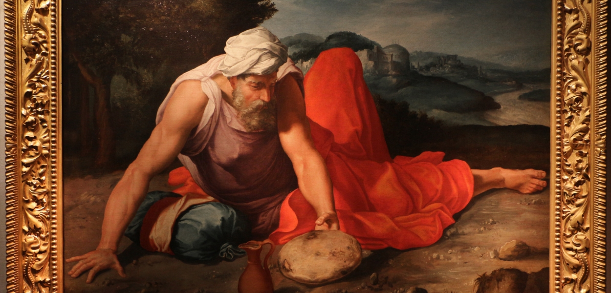 Daniele da Volterra, Elia nel deserto
