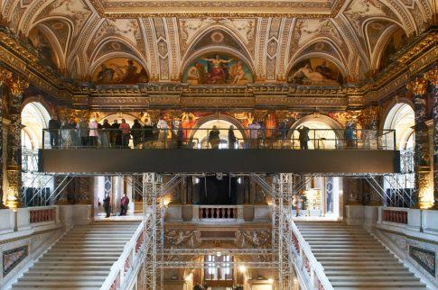 Stairway to Klimt, Eye to Eye with Klimt, foto del Kunsthistorisches Museum di Vienna